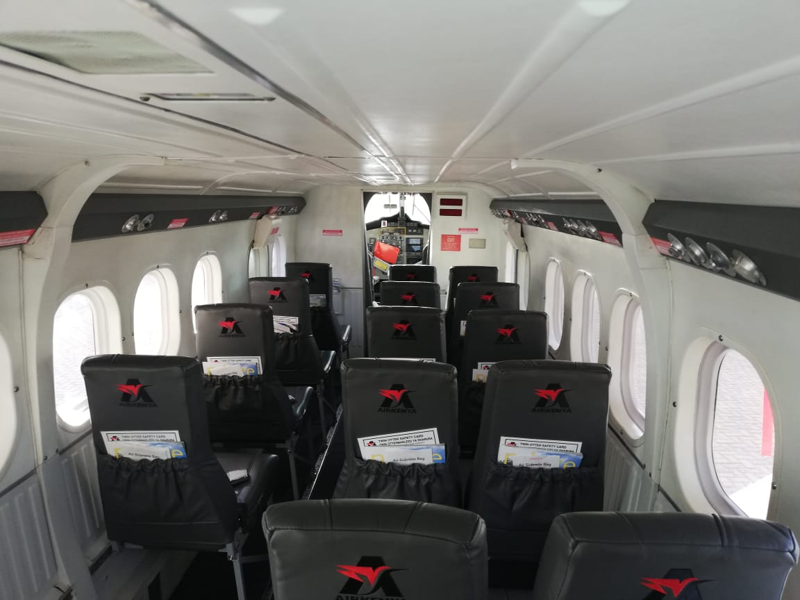 Airkenya Overhauls one of its Three Twin Otters (The de Havilland Canada DHC-6)